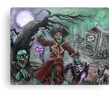 Pirate's Graveyard 2 Canvas Print