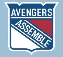 Team Avengers Kids Clothes