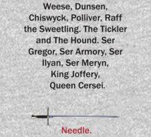 Needle by mrvengeance