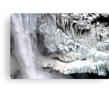 Snoqualmie Falls in Winter Canvas Print