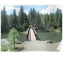 Bridge over Winchester Lake Idaho Poster