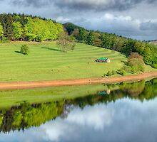 Ladybower Reflections - HDR by Colin J Williams Photography