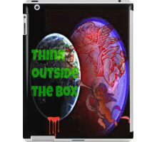 think outside the box iPad Case/Skin