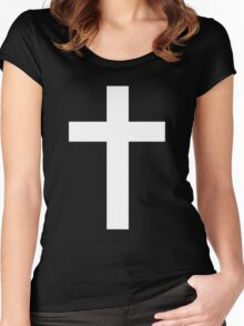 In God I Trust. Women's Fitted Scoop T-Shirt