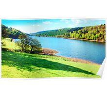 Ladybower Reservoir - Orton Poster