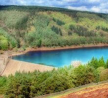 The Derwent Dam - Orton by Colin  Williams Photography