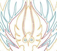 Crest of the Sin'dorei (Style 1) Sticker