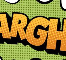 Aargh Sticker