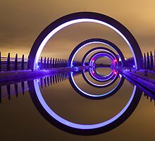 The Falkirk Wheel by Philip Mack