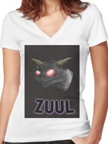 There is no Dana, only Zuul. Women's Fitted V-Neck T-Shirt