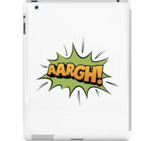 Aargh iPad Case/Skin