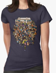 Super Breaking Bad Womens Fitted T-Shirt