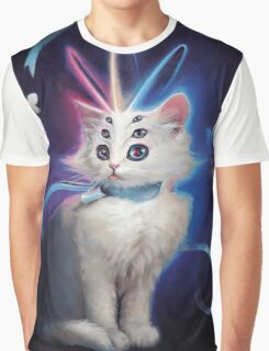 Buttons the Cat Graphic T-Shirt