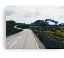 Winding Road Print Canvas Print