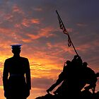 Iwo Jima Memorial by JoeCoffee64