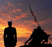 Iwo Jima Memorial by JoeCoffee64