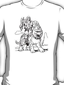He-Man & Battlecat T-Shirt