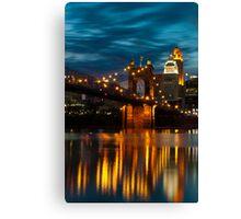 Cincinnati Reflection Canvas Print