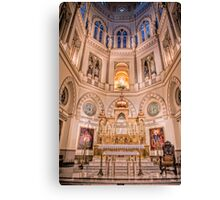 Immaculate Conception Catholic Church New Orleans Canvas Print