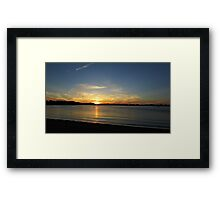 Placid Moments Framed Print