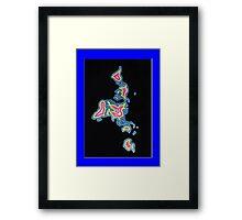 A World View Framed Print