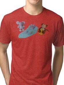 Kat's Icing Animals Tri-blend T-Shirt