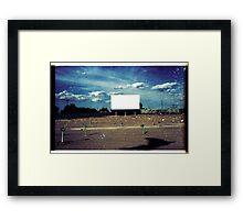00334 Framed Print