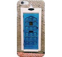 Blue Door Print iPhone Case/Skin