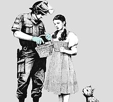 """""""Stop and Search - Banksy  by baronessjack"""