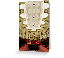 Parliament House, Victoria Greeting Card