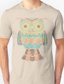 Retro Owl Poem T-Shirt