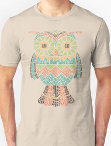Retro Owl Poem T-Shirt