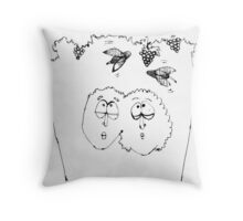 wasp concentration Throw Pillow