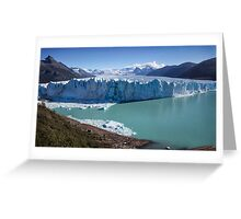 Perito Moreno Glacier Greeting Card
