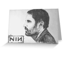 Trent Reznor Sketch Greeting Card