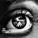 Eye In Charcoal. by Jacqui Frank