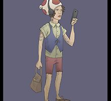 Hipster Toad by Idrawcartoons