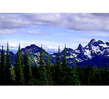 Mountains in July Photographic Print