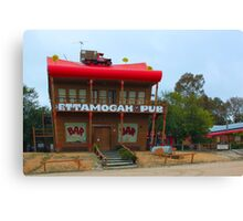 Ettamogah Pub near Albury NSW Canvas Print