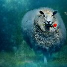 A sheep in love by Anne Seltmann