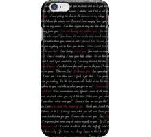 DeanCas Quotes - IPhone iPhone Case/Skin