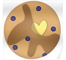 Blueberry Pancake Poster