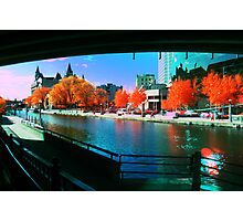 Funky Downtown Ottawa Infra-Red Evening  Photographic Print