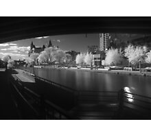Downtown Ottawa Infra-Red Evening Photographic Print
