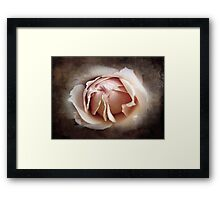 My Love is Unfolding Framed Print