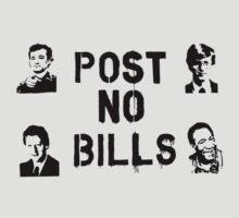 Post No Bills by CongressTart
