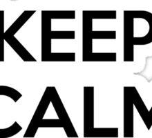 Keep Calm Man Flu Sticker
