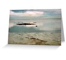 coastal calm Greeting Card