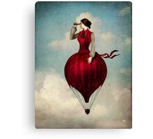 The Pleasure of Travelling  Canvas Print