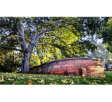 Another Brick in the Wall - Beechworth, Victoria, Australia Photographic Print